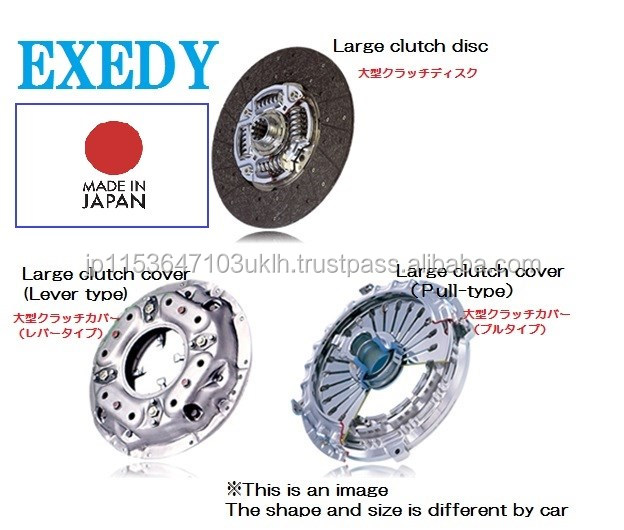 Various types of profesional clutch cover motorcycle japan for major automobiles