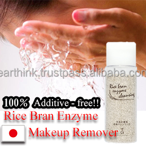 pore tightening /100% Additive-free! Rice Bran Enzyme Makeup Remover