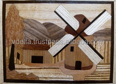 Special gift - wood marquetry
