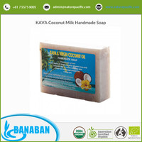 Natural Ingredients and Chemical Free Virgin Kava Coconut Milk Soap from Authentic Supplier