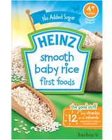 Heinz Breakfast First Foods Smooth Baby Rice 100g