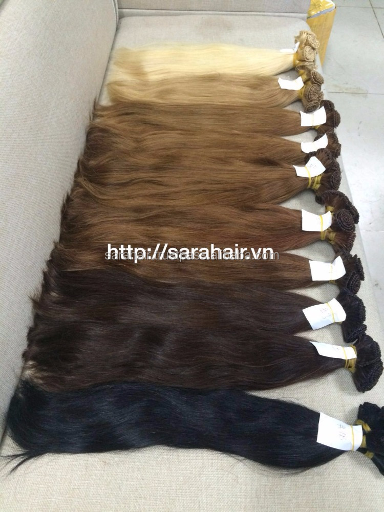 Vietnam Remy Hair Extension Hot Selling Large Store 5A grade top quality 100% Virgin Human Hair extensions