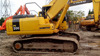 used excavator komatsu PC200-7 Japan's production for sale