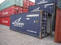 20GP 40GP 40HQ used shipping container for sale