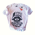 T-Shirts Mapache surf 100 % Cotton peruano