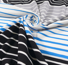 CT60/1 95% Cotton - 5%Spandex Stripe Fabric - DS-ALI-021