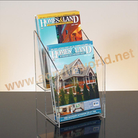 Acrylic Table Tent Literature Brochure Holder
