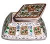 Vibrant Kumkum Box , Lac Boxes Gift for Marriage