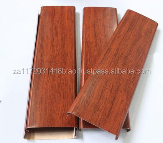 TOP QUALITY WOOD GRAIN CUSTOMIZED COLOR ALUMINUM