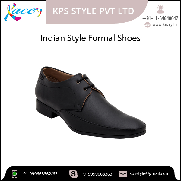 Precisely Design Formal Shoes with Lace Up Technique for Bulk Buyer