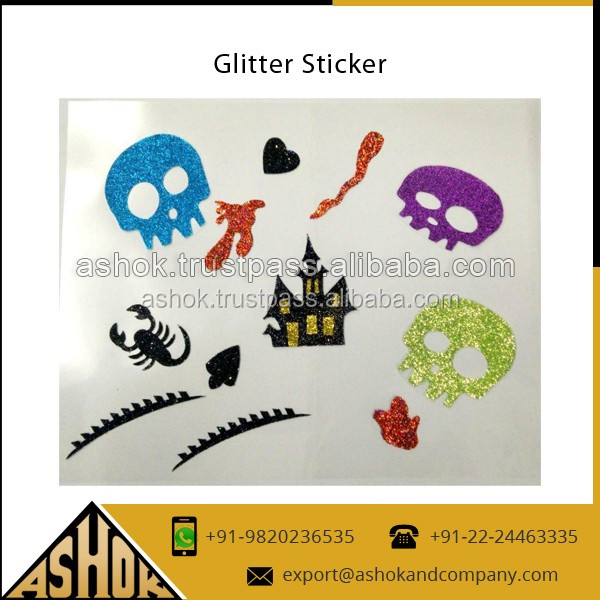 Glitter Stickers Tattoo Supplier / Premium Quality Attractive Design Glitter Stickers for Decoration Customized Tattoos Sticker