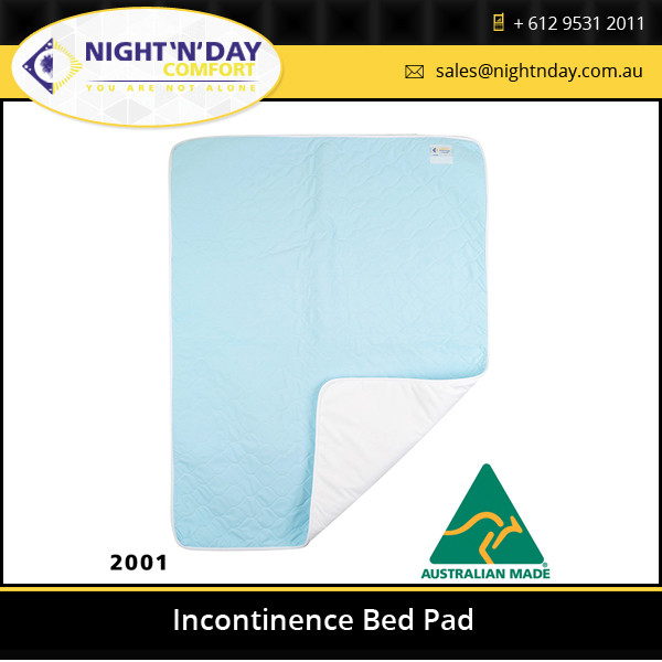 2017 new design blue medical incontinence bed pad from Australia