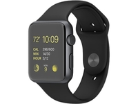 Watch MJ3T2LL 42mm Space Gray Aluminum Case with Black Sport Band