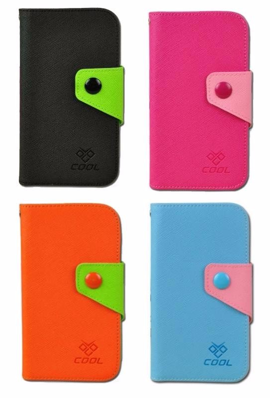 PU Canvas Rainbow Cover Flip Case for Acer Liquid Z530