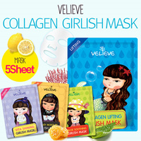 Collagen Girlish Mask Sheet / Korea facial mask / Skin care