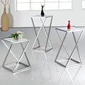 Stainless Steel High Quality Polish bed Side Tables