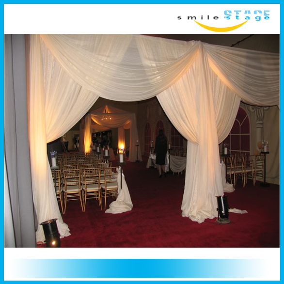 show photo booth pipe and drape