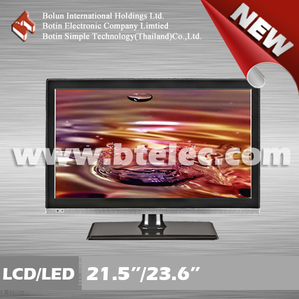 "Wide screen 23.6"" LED TV with B grade panel"