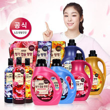 [LG ]Living korea Different fragrance Efficient concentration liquid laundry detergent for fabric softener Paper delicate skin