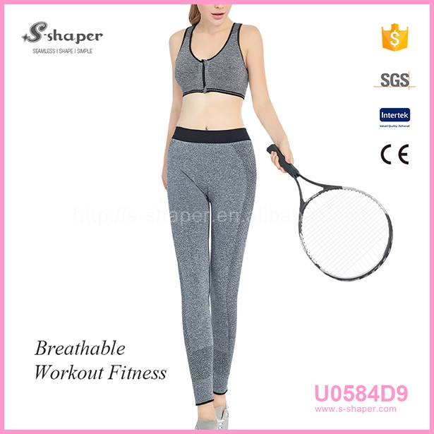 S - SHAPER Indian Yoga Clothing Yoga Leggings Set U0584D9