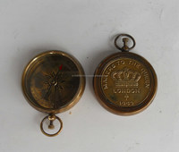Smart Pocket Watch, Nautical Antique Brass Ship Compass, Compass Pocket Watch, Item number Sai-1436