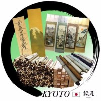"Assorted traditional arts and crafts Hanging scroll picture ""Kakejiku"" for home decoration"