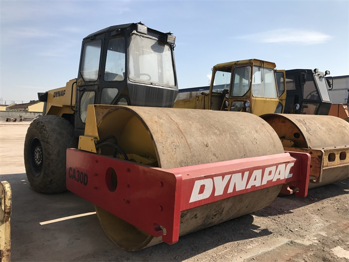 Sweden Dynapac CA30D Used Single Drum Road Roller For Sale