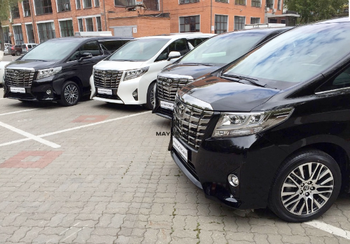2017 TOYOTA ALPHARD - EXECUTIVE LOUNGE 3.5TD/275 6AT - EXPORT READY