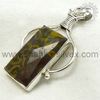 Unique Design 925 Sterling Silver Pendant Wholesaler Gemstone Silver Jewelry Online