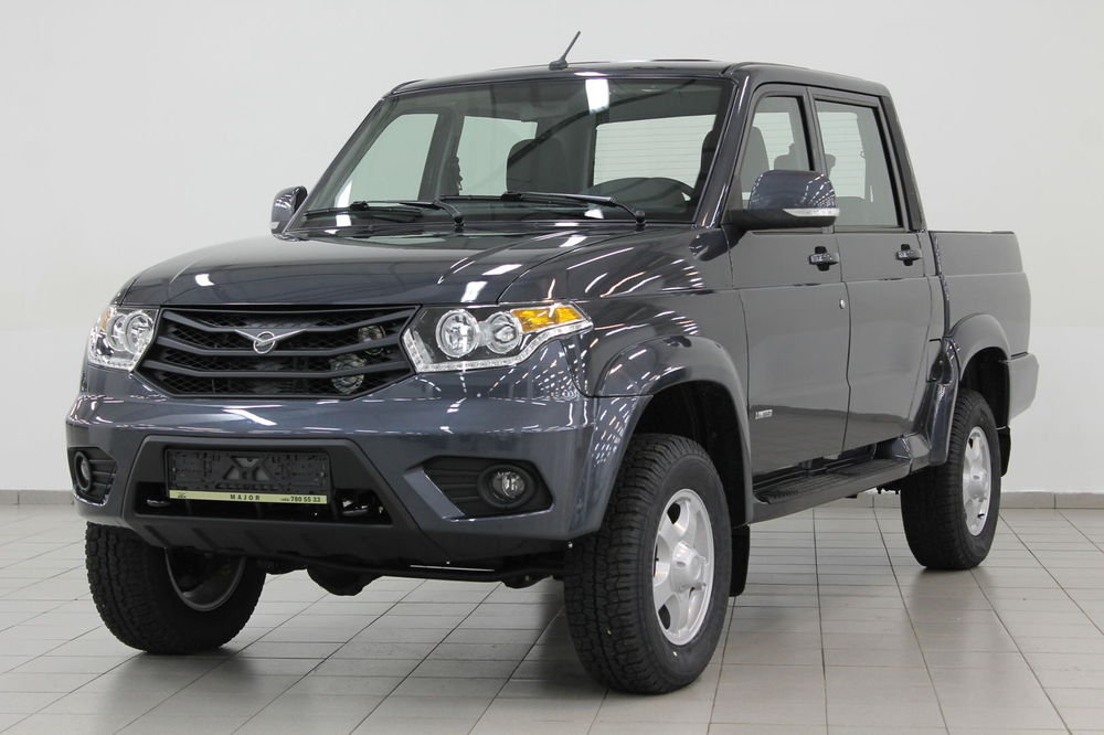 UAZ Pickup Limited 2.7L / 128 5MT Dark gray metallic - EXPORT READY