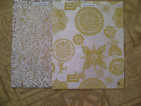 custom silk screen printed chocolate wrapping papers in custom made patterns made on eco friendly cotton handmade papers