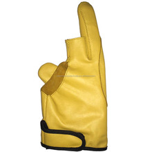 2 Finger Leather Archery Gloves AP-3344