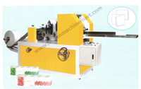 Vacuum Mani Type Face Tissue Machine (Made In India) Full-Auto Electric/Facial Paper Wrapping Machine/Folder Cutter Machinery