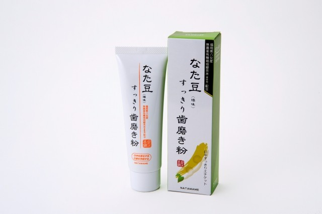 Japanese toothpaste with Organic Green Tea Powder produced in Fukuoka Japan for wholesaler
