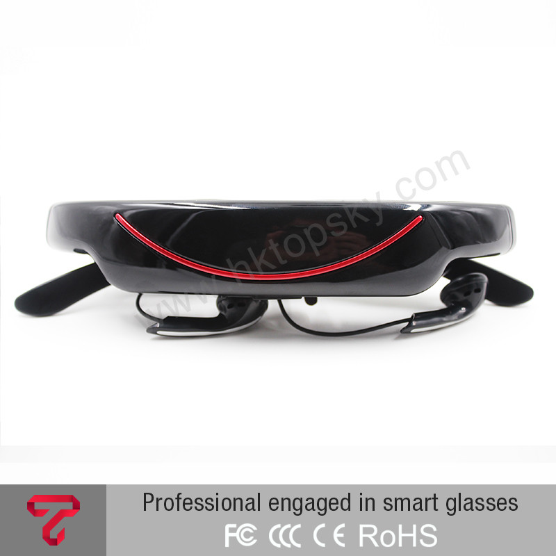 72inch screen virtual portable 3D video glasses home cinema dvd player bf downloadsglasses