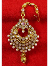 Indian Traditional Bollywood Maang Tikka Women Bridal Beautiful New Jewelry BMT1549A