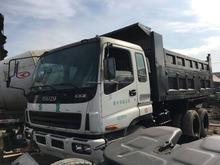 Used Isuzu 10 wheels dump truck