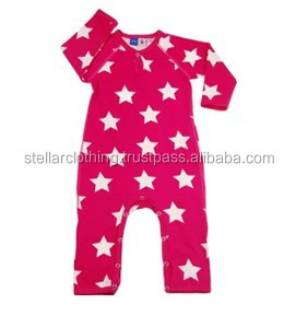 Factory Price 100% Cotton Custom Print Baby Clothes Made In India