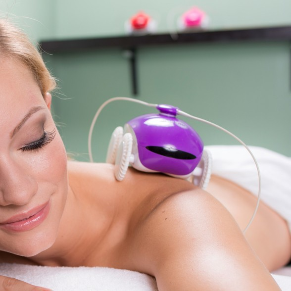 WheeMe The Back Massager Relaxation Robot - Purple - (New Version 2.0)