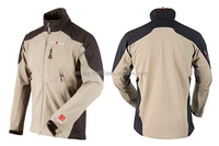 Windbreaker soft shell jacket (membrane bonded softshell jacket)