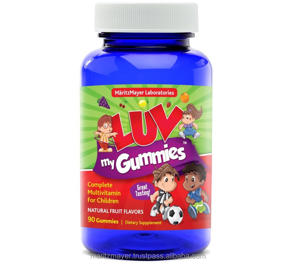 Made in USA Kids Multivitamin Gummies Health Food Supplement BEST MULTIVITAMIN