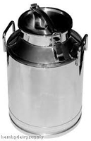 2014 New Dairy Supplies Mini Stainless Steel Milk Can With Lid