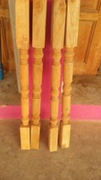 Stair Balusters Carved Wood Spindles Banisters Staircase Railing home