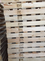 Wooden Pallets with ISPM-15 HT
