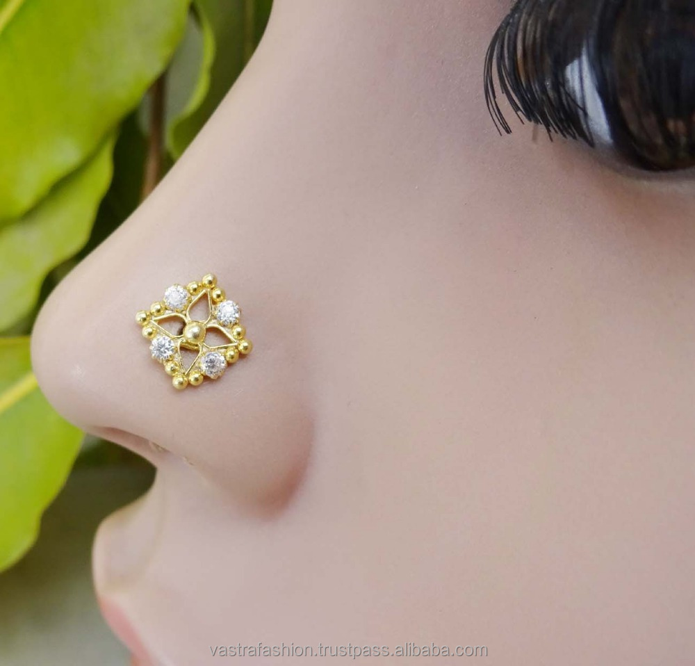 925 Sterling Silver Nose Pin