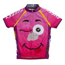 Children's Youth Printed Cycling Jersey/ bicycle jersey/ Customized design