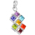 Trendy Natural Stone Necklace Crystal Quartz Healing Point Chakra Bead Pendant Necklace For Women