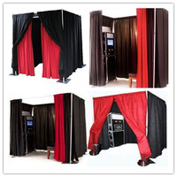 China wholesale photo frame/photo booth/pipe and drape backdrop for sale