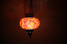 PB Lovely roof hanging mosaic lamp or pendant mosaic lamp