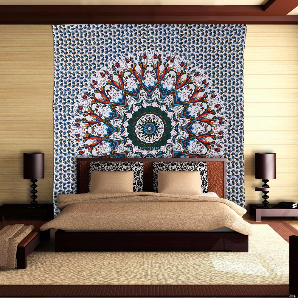Buy Hippy Bedsheet Ethnic Mandala Tapestry